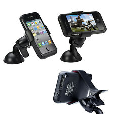 360 Rotating Car Holder Mount Windshield Cradle For iPhone 6S plus/6S/6/5S/5C/4