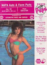 AUG 1991 NAPA AUTO PARTS PUPS car magazine - PINUP COVER