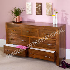 Contemporary Wooden Drawer Chest  cabinet !!