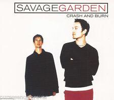 SAVAGE GARDEN - Crash And Burn (UK 3 Tk CD Single Pt 1)