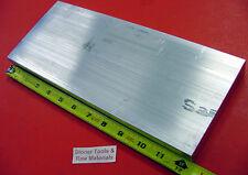 "1"" X 5"" ALUMINUM 6061 FLAT BAR 12.38"" long T6511 1.000"" Solid Mill Stock"