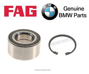 For BMW E83 X3 2004-2010 Front Left or Right Wheel Bearing & Snap Ring Set