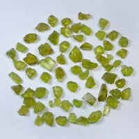 BEST QUALITY 55 CT SCOOP NATURAL PERIDOT ROUGH GEMSTONE LOOSE WHOLESALE LOT DEAL