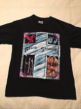 Vintage Black Sabbath T Shirt 1992 Tour Sz Large RARE The Brockum Group