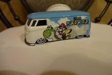 Hot Wheels Pop Culture Super Mario World Volkswagen T1 Panel Bus