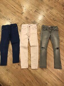 Zara Girls Jeans Age 7