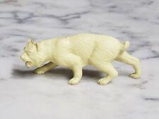 Vintage 1950s Marx Bobcat Figure from Wild Animals Set