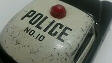 VINTAGE POLICE CAR TIN TOY FRICTION  NO.10 CHINA SEE MUCH MORE SIMILAR TOYS
