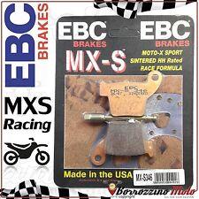 PLAQUETTE DE FREIN ARRIÈRE RACING EBC MX-S 346 HONDA-HM CRF MOTARD 250 2004-06