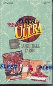 1992-93 Fleer Ultra Series 1 Basketball Box