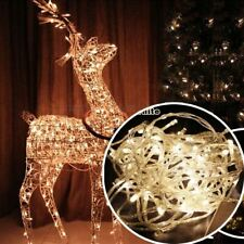 Christmas Decoration Lights 100LED light string - warm white 10m Electric