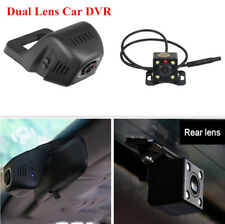 Auto Car Hd Hidden Dvr Wireless Wifi Connect Video Recorder Dash Cam Dual Lens(Fits: Ford Windstar)