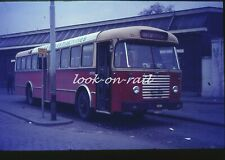 U60 - Dia slide original 35 mm bus autobus touringcar: NMBS, Fiat, 1971