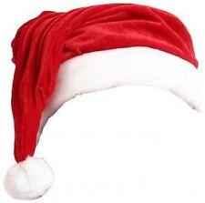 + CAPPELLO BABBO NATALE in panno con rifiniture plliccetta bianca Christmas