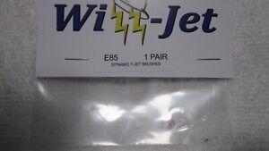 WIZZARD E85 .010 DYNAMIC T-JET BRUSHES 1 PAIR