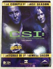 CSI Complete First Season Canadian Edition (English/French) 6 Disc Set