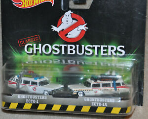 Hot wheels CLASSIC GHOSTBUSTERS Ecto-1 and Ecto-1A 2 Pack