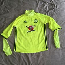Adidas Climacool Chelsea Training Top Football Shirt Neon yellow Medium M