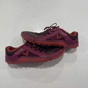 VivoBarefoot 200072-02 Women's Primus Trail Purple Running Shoes Size 9 US / 40