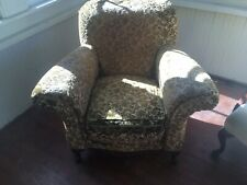 Antique Upholstered Victorian Arm Chair