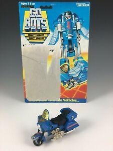 GoBots Night Ranger Motorcycle action figure w/ card back,1985 Tonka