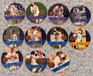 1995 Crown & Andrews Cricket Pogs: VIC,  NSW & W.A. x  11