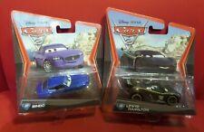 Lot of 2 Bindo #37 Disney Pixar World of Cars 2 & LEWIS HAMILTON #24