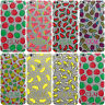 DYEFOR FRUIT INITIALS CLEAR HARD PHONE CASE COVER FOR APPLE IPHONE