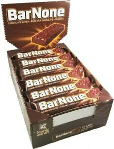 BarNone Chocolate - 24ct Case - Nostalgic Candy Bar None - FREE SHIPPING