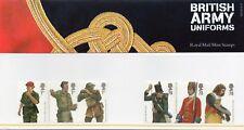 British  army  uniforms  stamps presentation pack