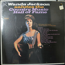 """WANDA JACKSON """"Salutes the Country Music...""""Capitol T2606 SEALED Country Mono LP"""