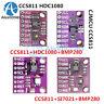 CCS811+BMP280+HDC1080+SI7021 Carbon Monoxide Temperature Humidity Air Gas Sensor