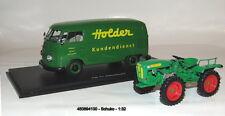 """Schuco 450894100 - Set """"Holder"""", Holder A20 mit VW T1b Kastenwagen, 1:32"""