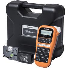 Brother P-touch E110VP Beschriftungsgerät + Koffer f. Elektro Handwerk Industrie