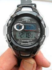 Reloj Pulsera Umbro Digital Reloj Cronógrafo Deportivo para Hombre señoras de luz de alarma U564B