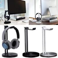 Universal Aluminum Headphone Stand Headset Holder Earphone Stand Bar Mount Deco