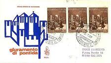ITALIA REP. - 1967 - VIII° centenario del giuramento di Pontida su Venetia - (A)