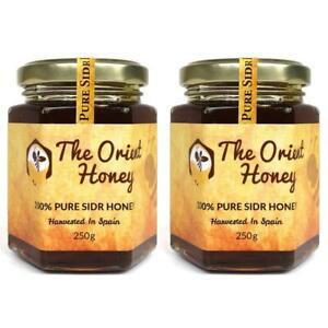 2 x 250G The Orient Honey Pure Sidr Honey Top Quality 100% Authentic Royal Raw