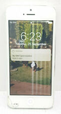 """Apple iPhone 5 16GB 4G A1429 4"""" SOLD AS IS/Crack screen/Faulty LCD/PIN LOCKED"""