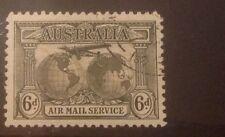 Australia 1931 correo aéreo 6d SG139 fino utilizado Gato £ 17