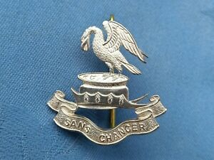 WW1.The Kings Liverpool Regiment Officers cap badge.