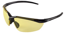 Bullhead Marlin Black Frame Yellow Lens Safety Glass Sunglasses Ballistic Rated