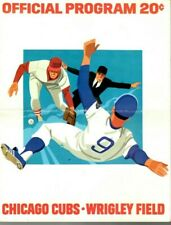 1974 (June 23) Baseball program Pittsburgh Pirates @ Chicago Cubs, scored ~ Fair