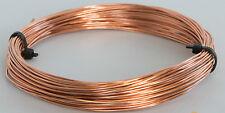1.0 mm (18 gauge) COPPER CRAFT/JEWELLERY WIRE x 4 metres long (4 Meters)