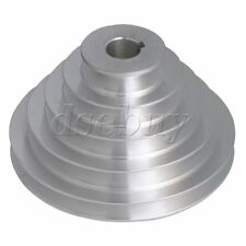 22mm Bore 5 Step A Type V-Belt Pagoda Pulley Belt Outter Dia 54-150mm