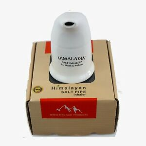 Himalayan Salt Inhaler Pipe Natural Asthama Inhaler Crystal Pink Rock Salt Pipe