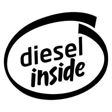 DIESEL INSIDE PETROL Sticker Decal 4x4 4WD Funny Ute #6575EN