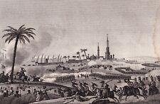 Bataille de Chebreiss Campagne d'Egypte Napoléon Bonaparte Shubra Khit 1819