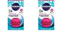 2x ECOZONE Magnoball Anti Limescale Ball Dishwasher Washing Machine Cleaning