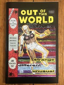 Out of this World #33 Ditko Snyder Zine Reprints Static Unpublished Flash Gordon